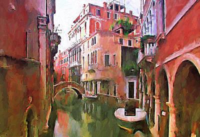Venice Today 2 Print by Yury Malkov