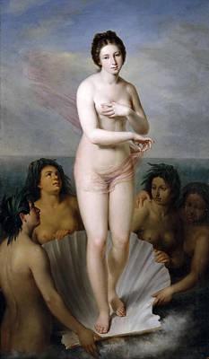 Antonio Maria Esquivel Painting - Venus Anadyomene by Antonio Maria Esquivel