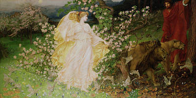 Dove Painting - Venus And Anchises by Sir William Blake Richomond