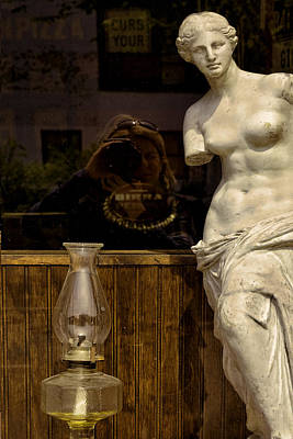 Venus And Me Print by Joanna Madloch