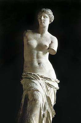 Venus De Milo. 2nd C. Bc. Hellenistic Print by Everett