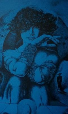 Drawing - Venus Doom by Robert Art