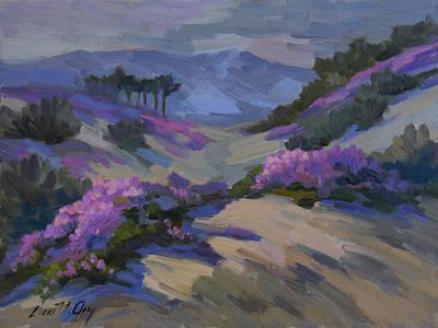 Verbena Painting - Verbena In Bloom by Diane McClary