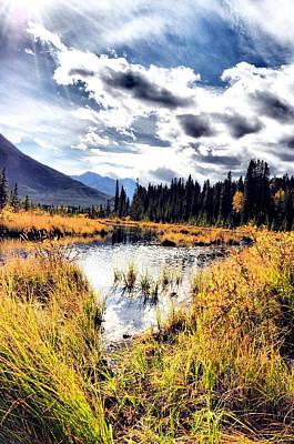 Alberta Photograph - Vermllion by Laura Strain