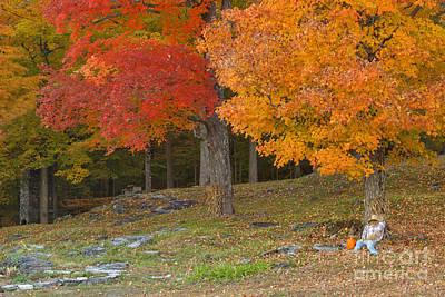 Pumpkins Photograph - Vermont Autumn Cliche by Charles Kozierok
