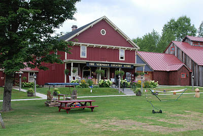 Vermont Country Store Photograph - Vermont Country Store 5654 by Guy Whiteley