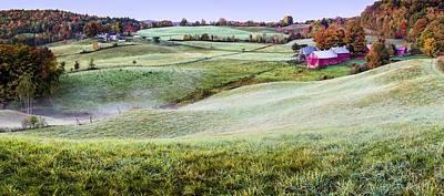 Vermont Farm Print by Kyle Wasielewski