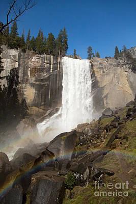Vernal Falls Yosemite Print by Jane Rix