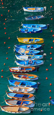 Vernazza Armada Print by Inge Johnsson