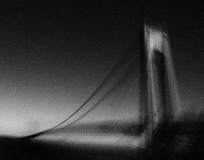 Manipulation Photograph - Verrazano-narrows Bridge by Mayumi  Yoshimaru