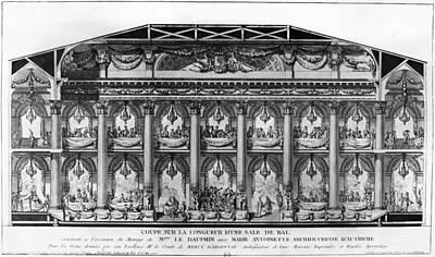 Versailles Ballroom Print by Granger