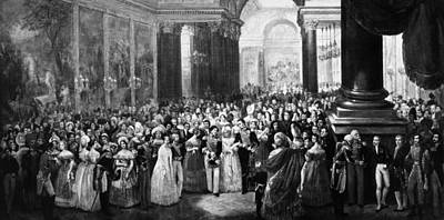 Inauguration Painting - Versailles Museum, 1837 by Granger