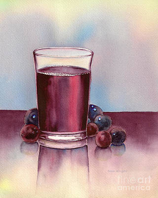 Very  Berry Print by Nan Wright