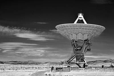 Data Photograph - Very Large Array Radio Telescopes by Christine Till