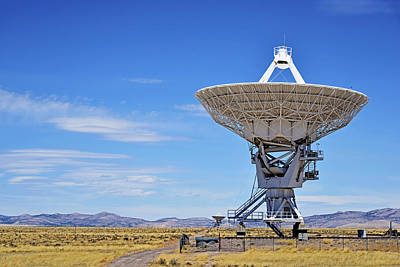 Data Photograph - Very Large Array - Vla - Radio Telescopes by Christine Till