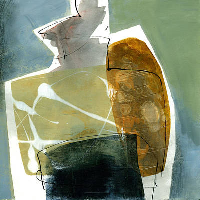 Shapes Painting - Vessel 1 by Jane Davies