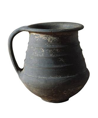 Ceramics Photograph - Vessel From 2nd C. Bc. Iron Age by Everett