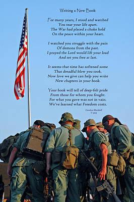Veterans Remember Print by Carolyn Marshall