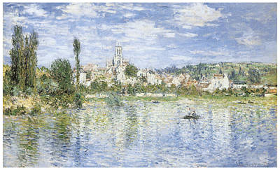 Vetheuil Painting - Vetheuil In Summer by Claude Monet