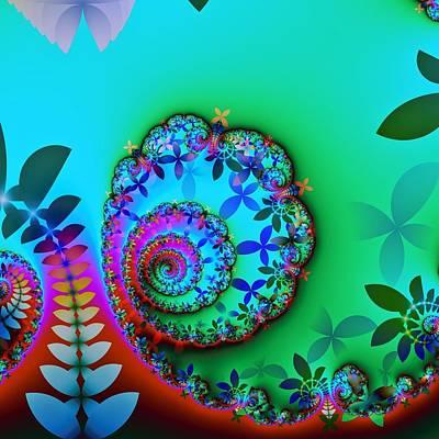 Vibrance Print by Sharon Lisa Clarke