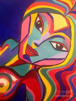 Vibro Queen Portrait Original by Karen Larter