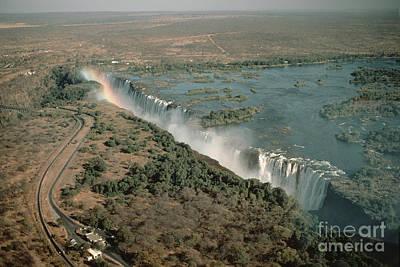 Zambesi River Photograph - Victoria Falls by Gregory G. Dimijian