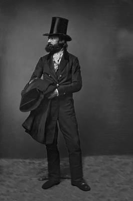 Beaver Digital Art - Victorian Gentleman William Sidney Mount C. 1853 by Daniel Hagerman