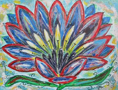 Painting - Hawaiian Flower by Diane Pape