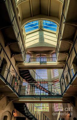 Victorian Jail Print by Adrian Evans