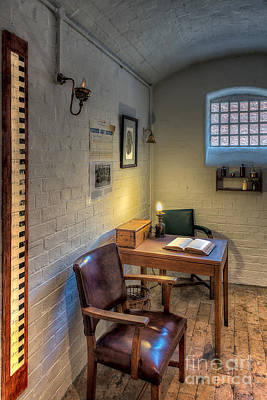 Victorian Jail Office Print by Adrian Evans