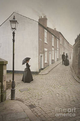 Husband Waiting Photograph - Victorian Life by Lee Avison