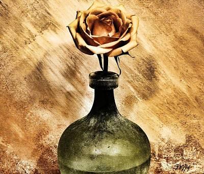 Wrap Digital Art - Victorian Rose by Marsha Heiken