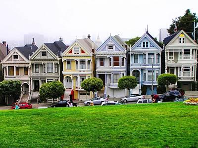 San Francisco Architecture Original by Oleg Zavarzin