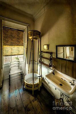Bathroom Sinks Photograph - Victorian Shower by Adrian Evans