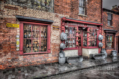 Front Digital Art - Victorian Stores England by Adrian Evans
