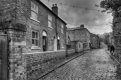 Victorian Street Print by Adrian Evans