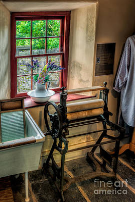 Sashes Photograph - Victorian Wash Room by Adrian Evans