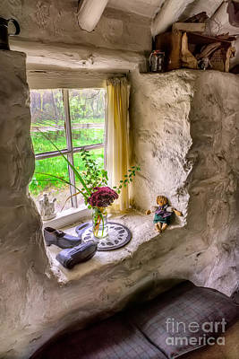 Ledge Photograph - Victorian Window by Adrian Evans