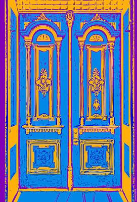 Victoriandoorpopart Print by Greg Joens