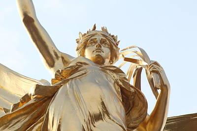 Greek Goddess Nike Photograph - Victory Close by Nicholas Miller