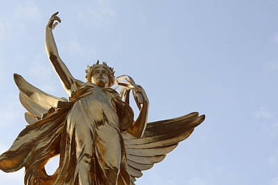 Greek Goddess Nike Photograph - Victory Far by Nicholas Miller