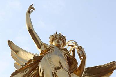 Greek Goddess Nike Photograph - Victory by Nicholas Miller