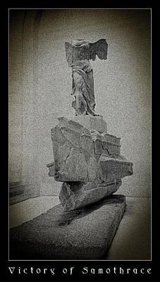 Victory Of Samothrace Print by Weston Westmoreland