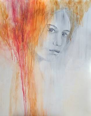 Impressionist Mixed Media - Viedma  by Aleksandra Borzecka