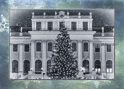 Entrance Memorial Photograph - Viennese Christmas Wonderland by Joan Carroll