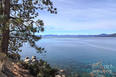 View Across Lake Tahoe Print by Jannis Werner