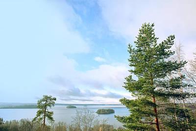Finland Photograph - View For Pispala by Jaroslavas Macko