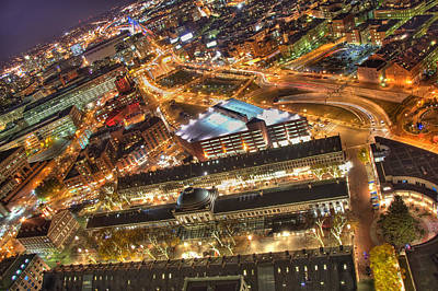 Boston Photograph - View From Above by Joann Vitali