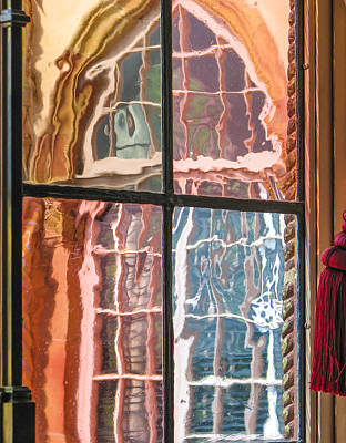 View From Another Window Print by Carolyn Marshall