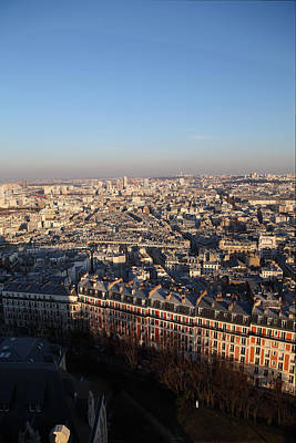 Cities Photograph - View From Basilica Of The Sacred Heart Of Paris - Sacre Coeur - Paris France - 011328 by DC Photographer